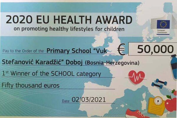 2020 EU HEALTH AWARD